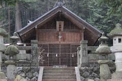 貴重な御神体が祀られる小野神社(豊丘村小園)