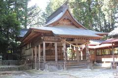 七久里神社秋季例祭(飯田市山本)