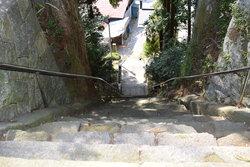 約320年前の石段
