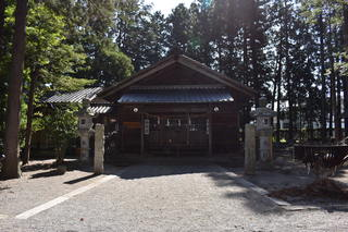 矢高諏訪神社 拝殿