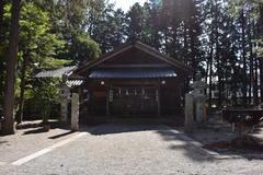 矢高諏訪神社  【所在地】飯田市鼎下山