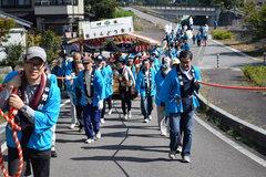伊奈神社の笹りんどう祭り  【所在地】飯田市山本竹佐862