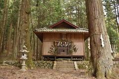 八王子神社・姫宮神社    住所:飯田市上郷黒田