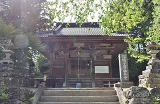 瑠璃寺本堂