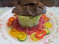 ていざなすのステーキ生トマトソース