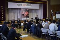 市田柿生産販売反省会、年明けの価格維持が課題