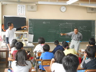 竜丘小学校5年生 田植え事前学習