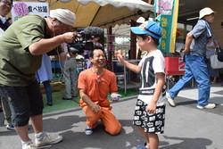 末吉君のテレビインタビュー