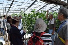 Iターン就農希望者が南信州農家を訪問