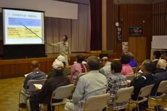 安全と衛生管理を確認/新規従事者らを対象に市田柿の講習会