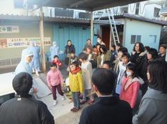 ユニー㈱食育ツアー/親子20組が農産物の収穫とりんごジャム作りを体験