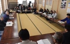 組合員と本音で語り合う懇談会を各集落で開催