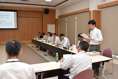 5年後150㌧を目標 市田柿海外輸出事業プロジェクト推進会議