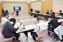 輸出事業プロジェクト推進会議の様子