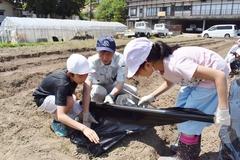 JAが食育を通して小学校の交流の場を提案