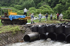 【NEWS】人海戦術で出荷支援 大島地区の農産物出荷再開
