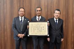 【NEWS】上郷 加藤朋幸さん  令和2年度長野県園芸特産業関係功労者受賞
