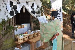 菅原神社(松川町)で行った合格祈願