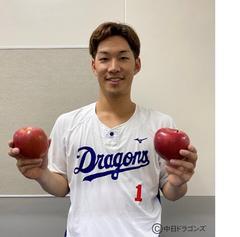 中日ドラゴンズ「勝利のりんご」当選者発表【9月分】