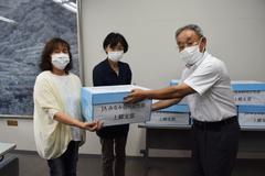 【NEWS】JA女性部上郷支部が飯田市社協へタオル寄付