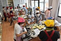 【NEWS】女性部喬木支部「夏休み親子料理教室」
