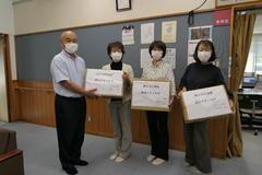 【NEWS】JA女性部喬木支部社会福祉協議会にタオル寄付