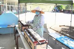 【NEWS】JA女性部「つぼみ」保育園で五平餅づくり
